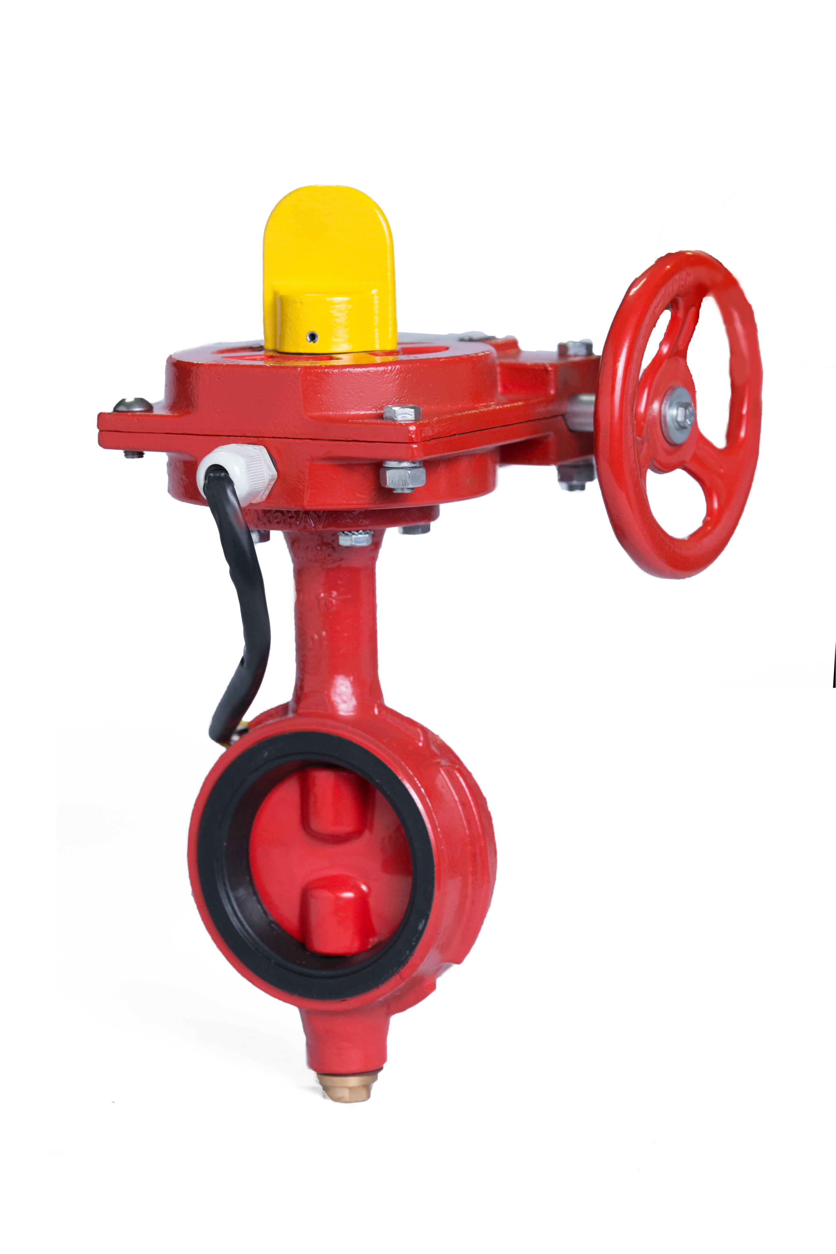 Grooved end wafer butterfly valves fire fighting
